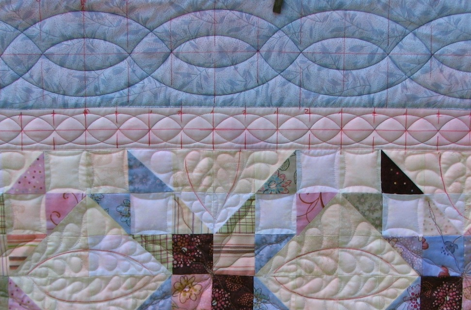 Border template gallery blue outer border is quilted maxwellsz