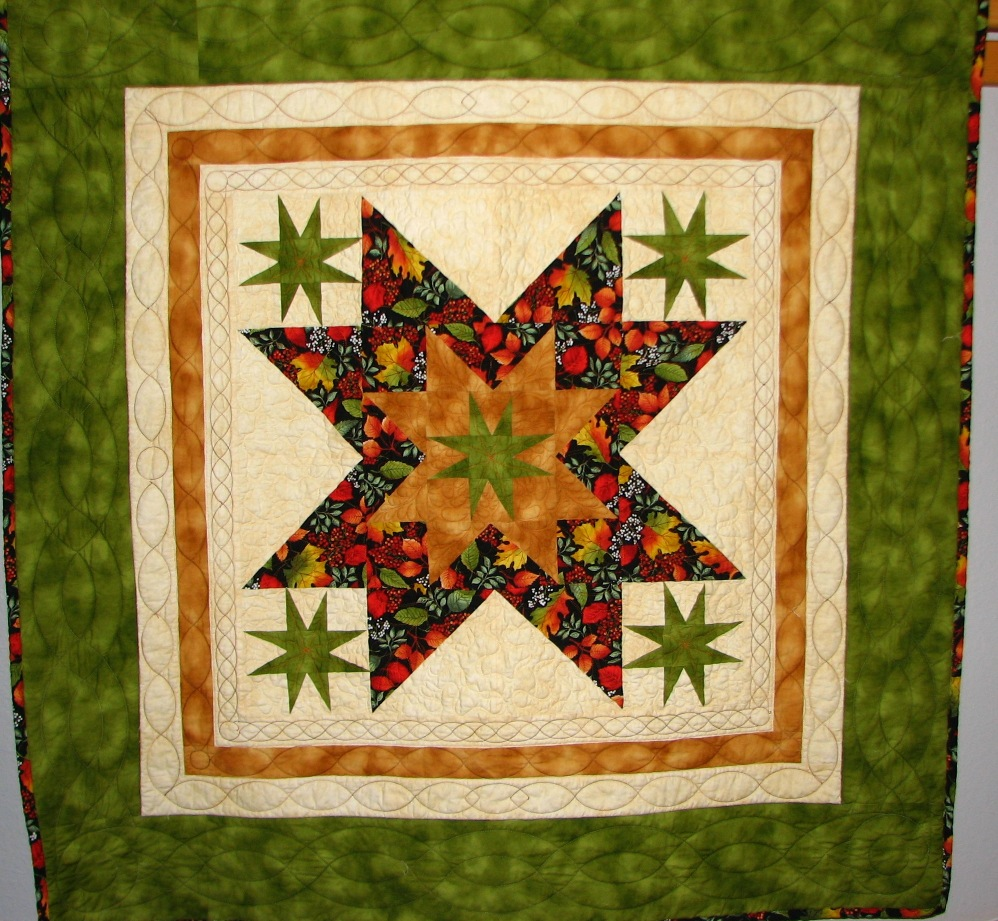 Border template gallery autumn stars wall quilt maxwellsz